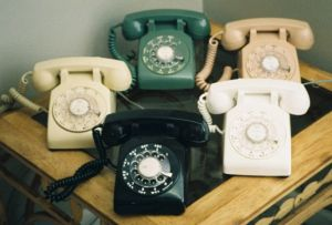 Vintage rotary phone images - 1960s retro phones.jpeg