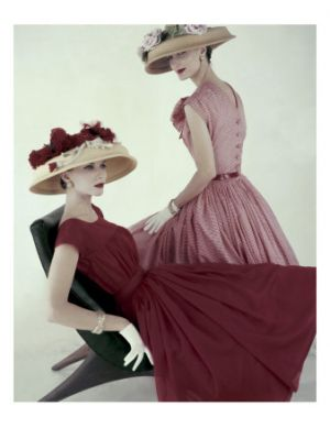 Luscious vintage fashion photography by Karen Radkai