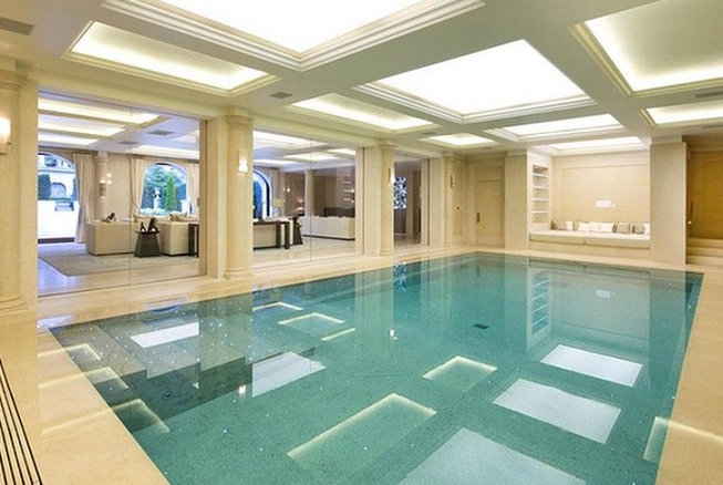 Architecture and design one cornwall terrace london for Pool design london