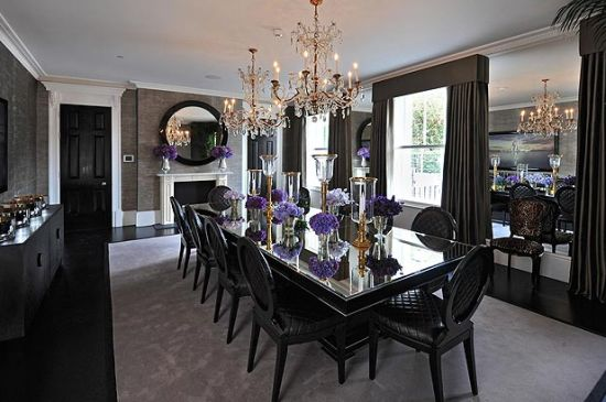 One Cornwall Terrace Estate Dining Room