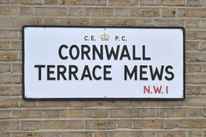 Cornwall Terrace Mews street sign.jpg