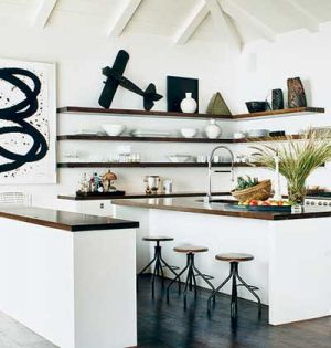 Decorating a kitchen - photos - Pictures of kitchens - open-art.jpg