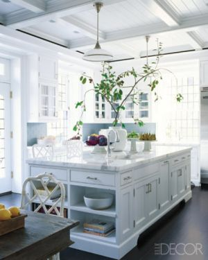 Ideas for a kitchen renovation pictures - Elle Decor Bright and White Kitchen.jpg
