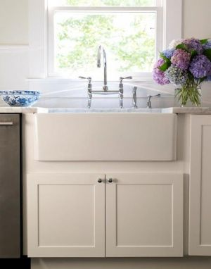 Inspiration for kitchen remodeling - country farmhouse kitchen sink.jpg