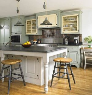 Pictures of kitchens - timeless kitchen stools - luxurious kitchens.jpg