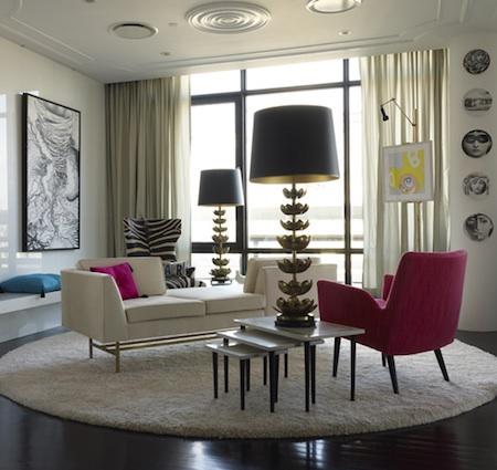 A colourful life jonathan adler designs for Jonathan adler interior design
