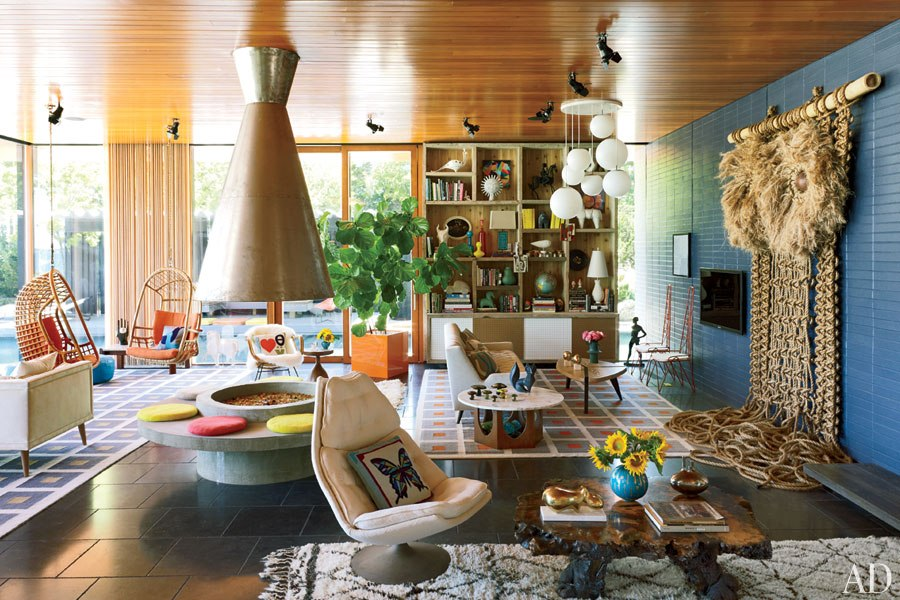 A Colourful Life At Home With Jonathan Adler And Simon Doonan On Shelter Island New York