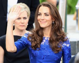 The Duchess attends an event in Quebec Canada in a second dress by Erdem.jpg