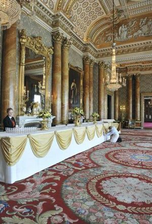 Buckingham Palace Blue Drawing Room will be used for the wedding reception.JPG