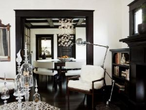 black and white living room with black framed doorway.jpg