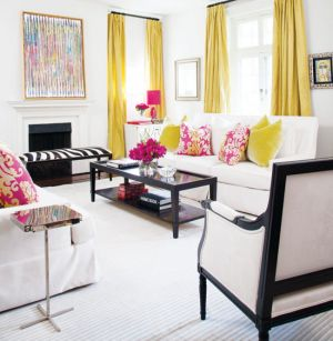 Colour Your World Living Room By Designer Lisa Sterio