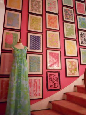 Lilly Pulitzer  prints on wall - Luscious Life decor fashion blog.jpg
