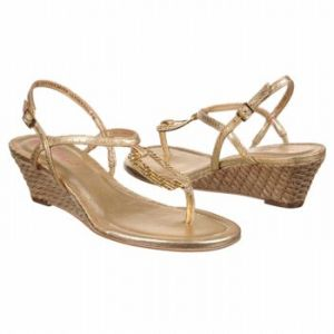 Lilly Pulitzer As Good As Gold Sandals Gold Metallic - Womens Sandals.jpg