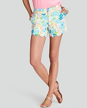 Lilly Pulitzer Buttercup Shorts - floral.jpg