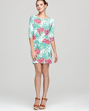 Lilly Pulitzer Cassie Dress - teal and pink.jpg
