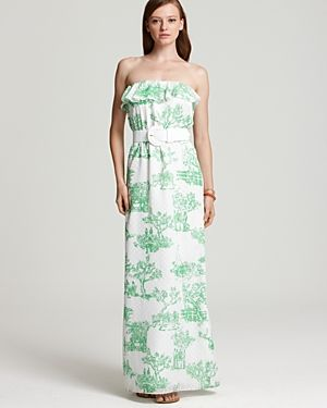 Lilly Pulitzer Darleena Toile Dress - green and white.jpg