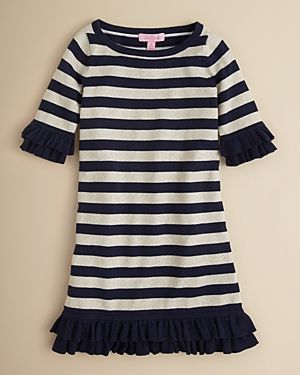 Lilly Pulitzer Girls black striped Little Helena Sweaterdress.jpg