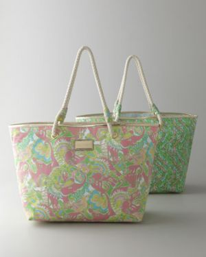 Lilly Pulitzer Home - Shoreline Tote - Luscious Life decor fashion blog.jpg