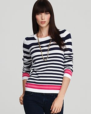 Lilly Pulitzer Jessie Stripe Sweater - black white pink.jpg