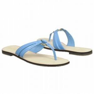 Lilly Pulitzer McKim Sandal Sandals Flutter Blue Patent - Womens Sandals.jpg