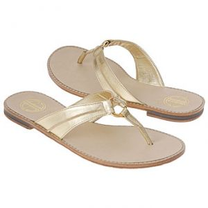Lilly Pulitzer Mini McKim Tod Pre Sandals Gold Metallic - Kids Sandals.jpg