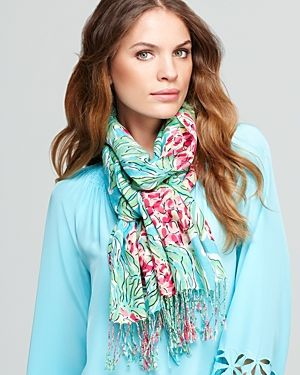 Lilly Pulitzer Murfee Scarf - turquoise pink.jpg