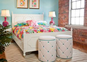 Lilly Pulitzer bedroom home decor.jpg