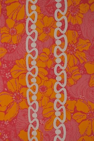 Lilly Pulitzer print orange - Luscious Life decor fashion blog.jpg