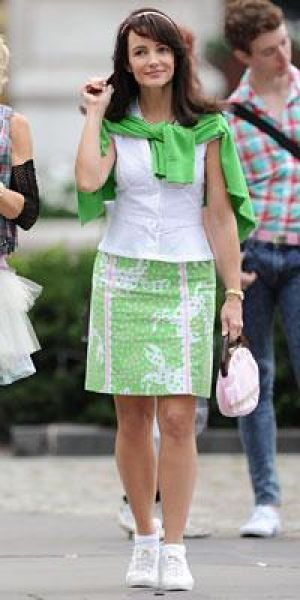 kristen-davis-wearing-lilly-pulitzer - Luscious Life decor fashion blog.jpeg