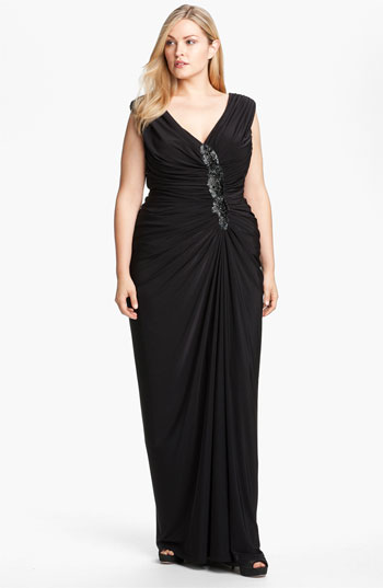 Wishlist Tadashi Shoji Plus Size Cocktail And Evening Dresses