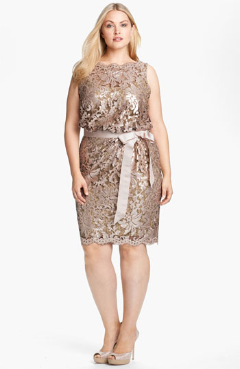 WISHLIST: Tadashi Shoji plus-size cocktail and evening dresses