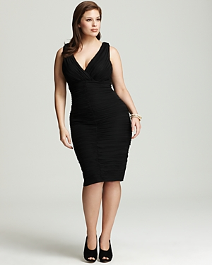 Nordstrom Plus Size Black Cocktail Dresses - Holiday Dresses