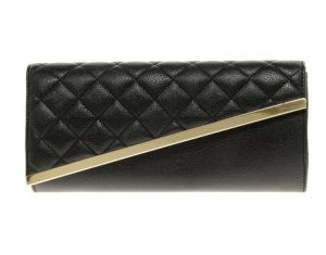 ASOS Quilted Diagonal Clutch Bag in black.jpg