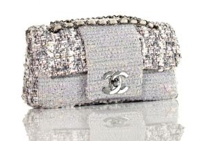 Chanel Tweed Classic Fantasy Flap Bag Rare - silver white.jpg