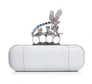 alexander mcqueen bewjewelled knuckle clutch bag WHITE.jpg