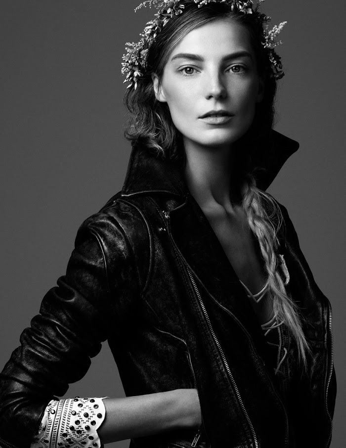 Daria Werbowy Shines On Fashion Canada S October 2013: Fashion Editorial: Daria Werbowy By Steven Pan For Vogue
