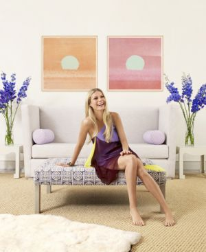 Gwyneth Paltrow at home - Hamptons House by Eric Cahan 2007.jpg