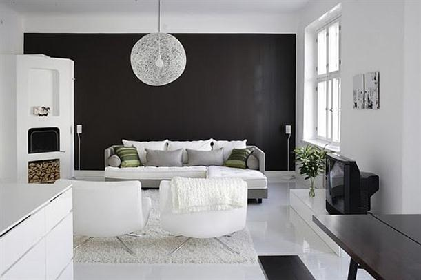 ... Ideas For Black And White Design   Luscious Sophisticated Black And  White Interior ...