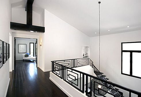black white style contemporary home design via luscious life decor black white interior design