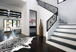 Pictures of black and white design - black and white interiors via myLusciousLife.jpg