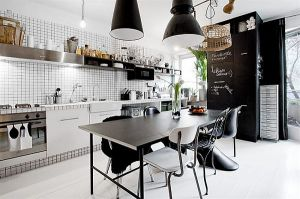 black-white-interior-design-apartment kitchen design decor.jpg