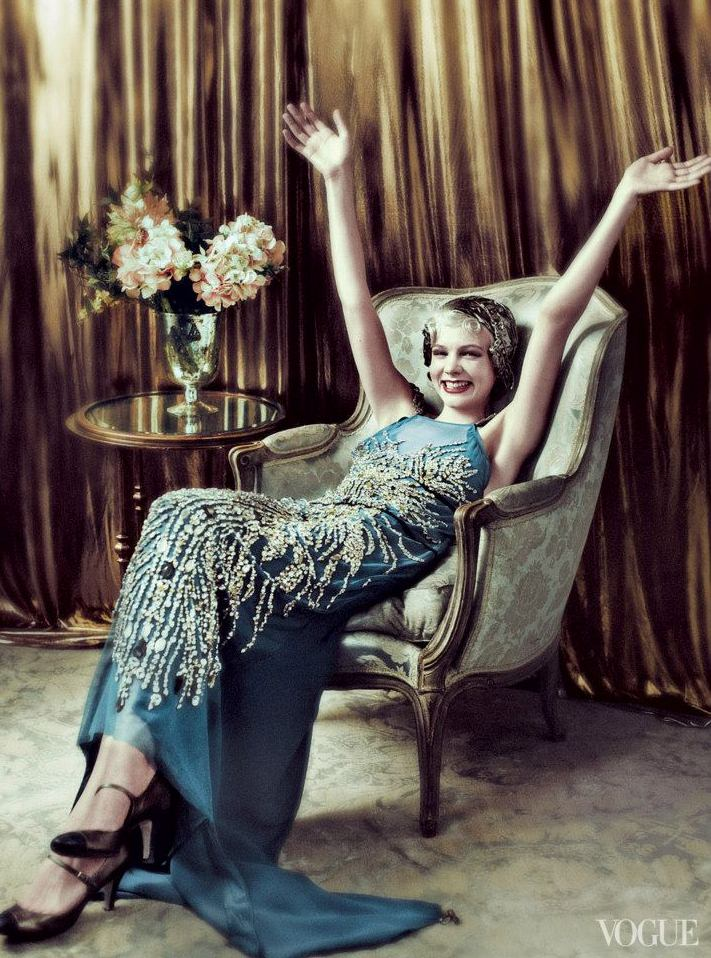 Fashion editorial: Carey Mulligan by Mario Testino and ...