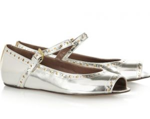 Marni Metallic leather ballet flats.jpg