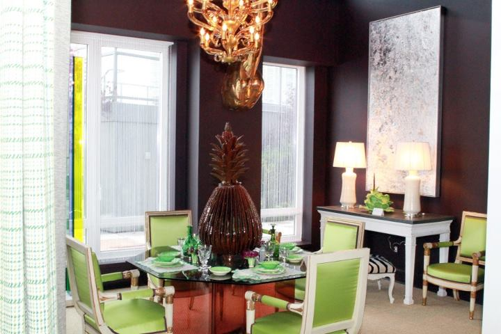 Lime green dining chairs images for Lime green dining room ideas