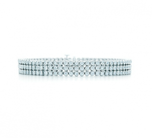 Tiffany Jazz three-row diamond bracelet in platinum - The Great Gatsby collection.PNG