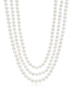 Tiffany Ziegfeld Collection necklace of freshwater cultured pearls jewelry - The Great Gatsby collection.PNG