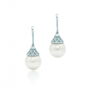 Tiffany Ziegfeld Collection pearl earrings in sterling silver - The Great Gatsby collection.PNG