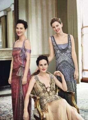 best wedding dresses - downton-abbey girls via mylusciouslife.jpg