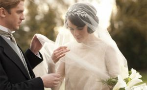 mary wedding in downton abbey - 1920s wedding.jpg