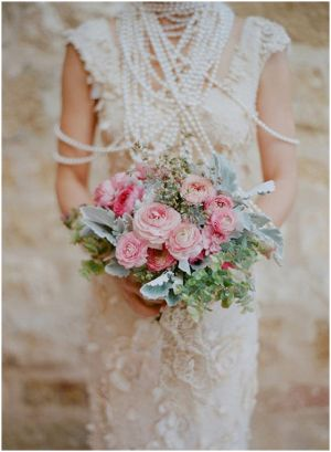 vintage wedding dress 1920s - 1920s wedding bridal bouquet.jpg